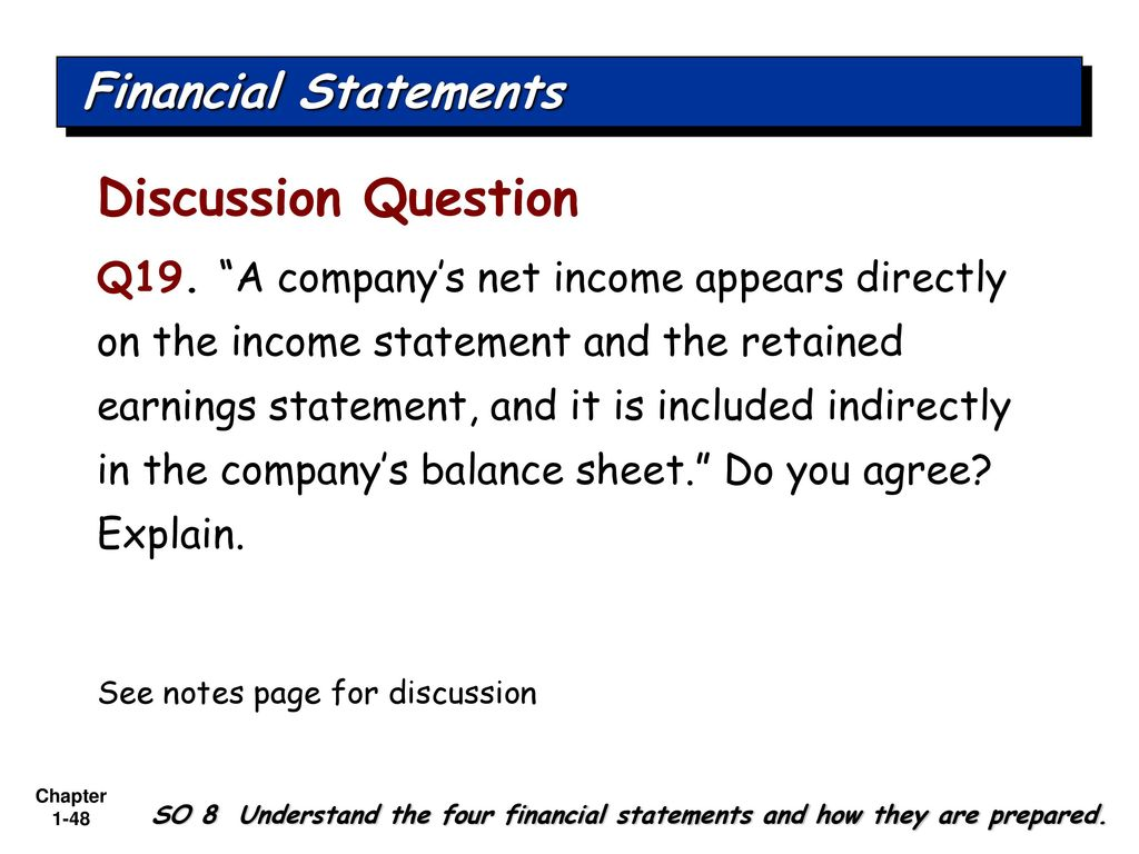 accounting and finance discussion questions