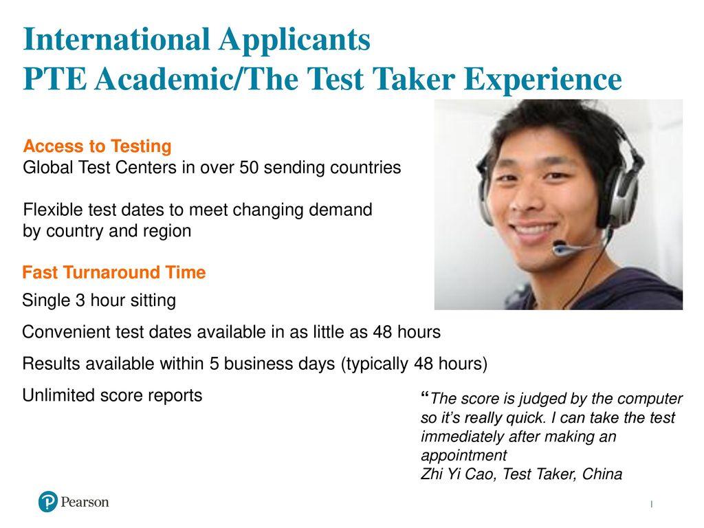 pte academic test taker handbook