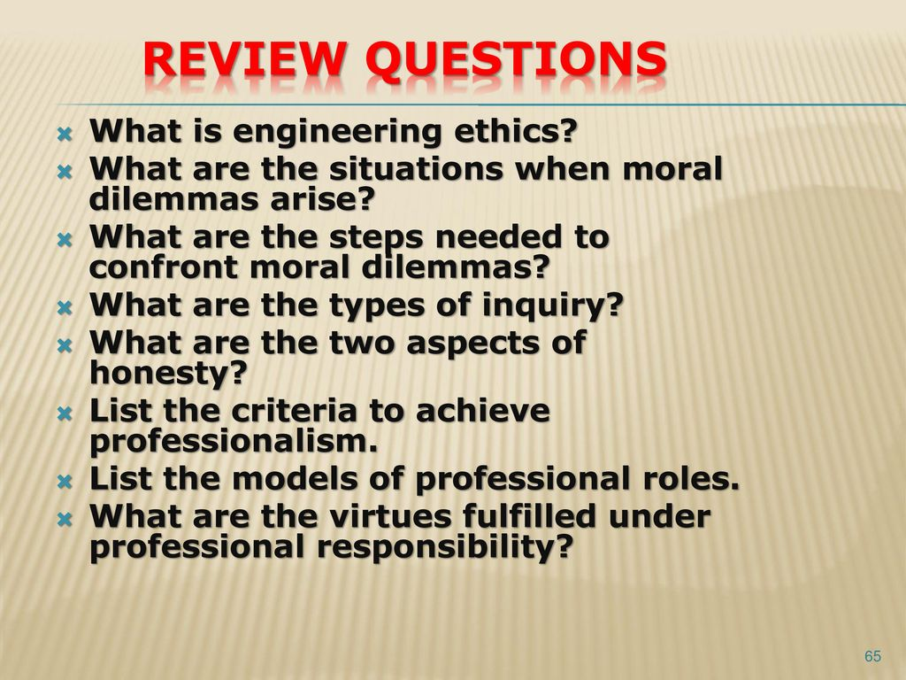 ethics unit review questions View unit 7 from cr j 56 at harmony high school review questions 1 why is  the notion of ethics particularly important in the criminal justice system.