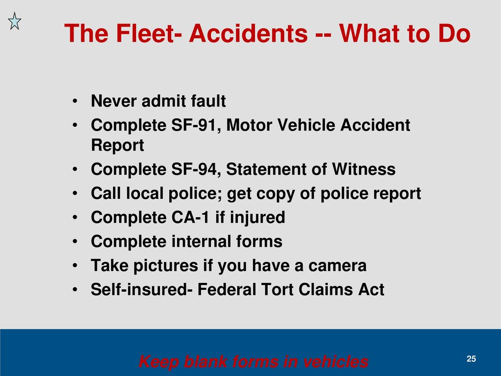Federal fleet management 101 energy exchange ppt download for Where can i get a motor vehicle report