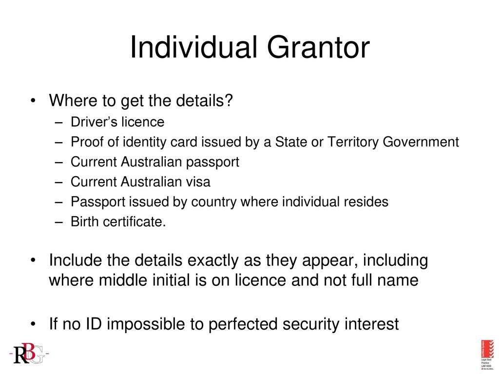 Level adelaide street brisbane qld ppt video online download individual grantor where to get the details 1betcityfo Choice Image