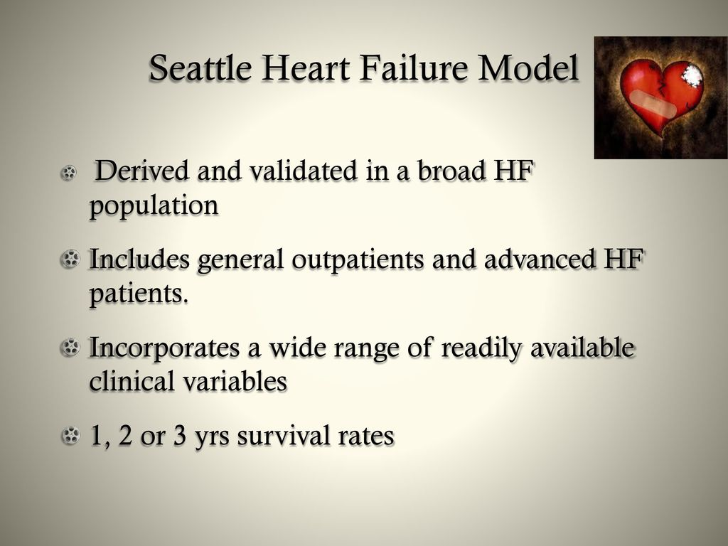seattle heart failure model