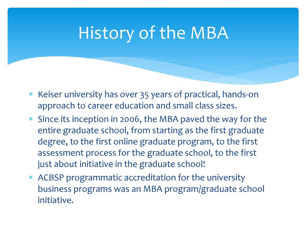 Keiser University\'s MBA - ppt download
