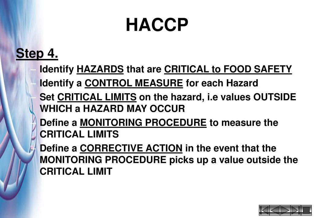 In house training course for ppt video online download - Haccp definition cuisine ...
