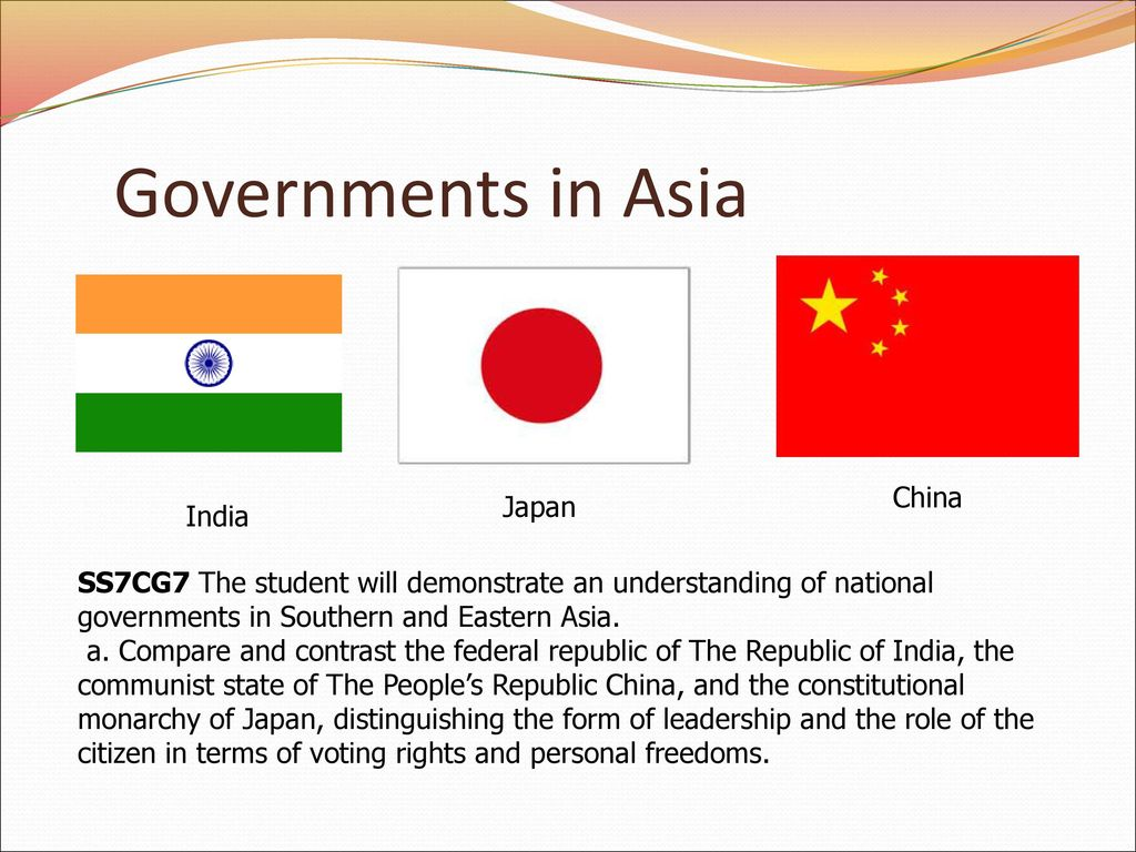 compare and contrast india and china