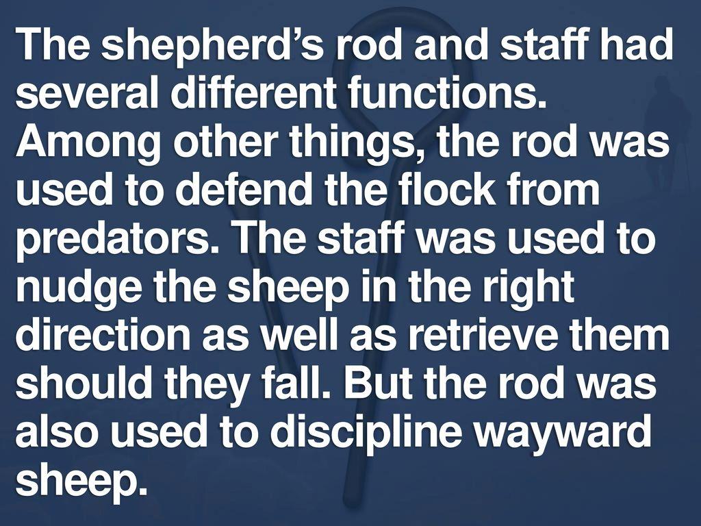 Workbooks rod and staff workbooks : LESSON 6: Defeating Despair Part 2 Psalm 23: ppt video online download