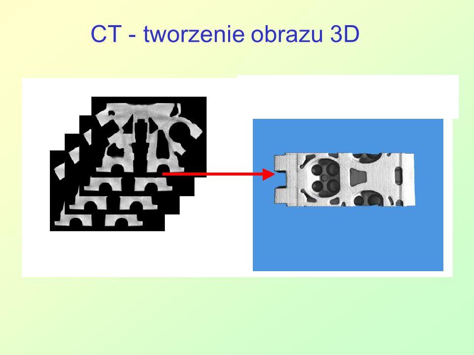 CT - tworzenie obrazu 3D