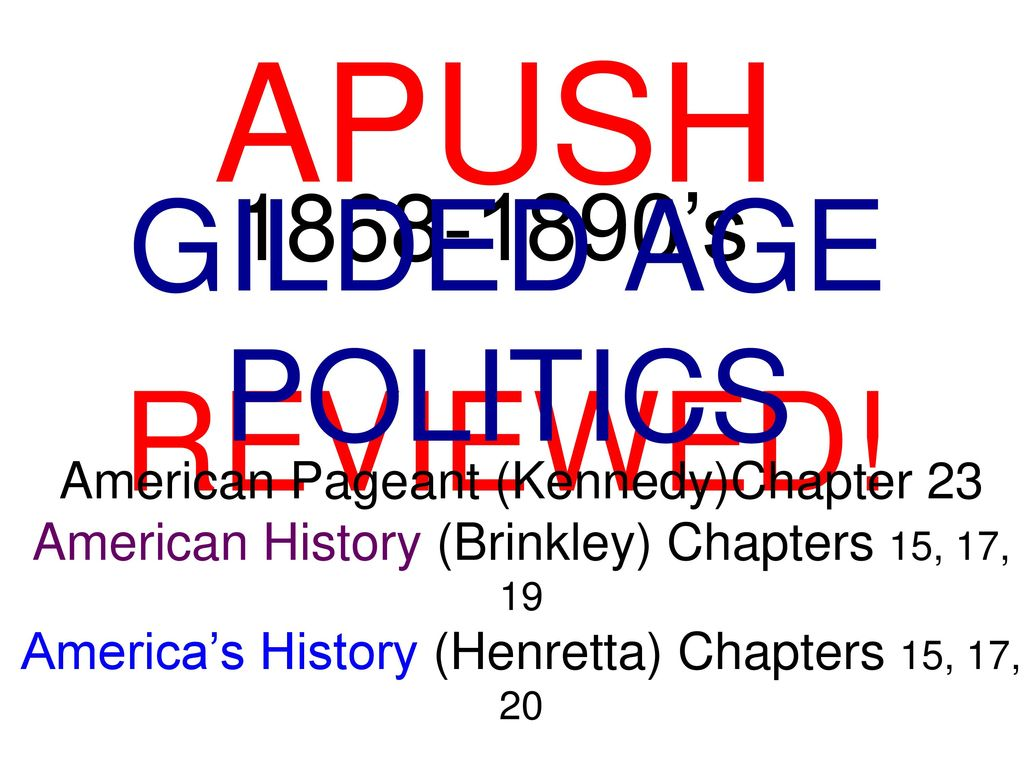 chapter 12 question apush the american