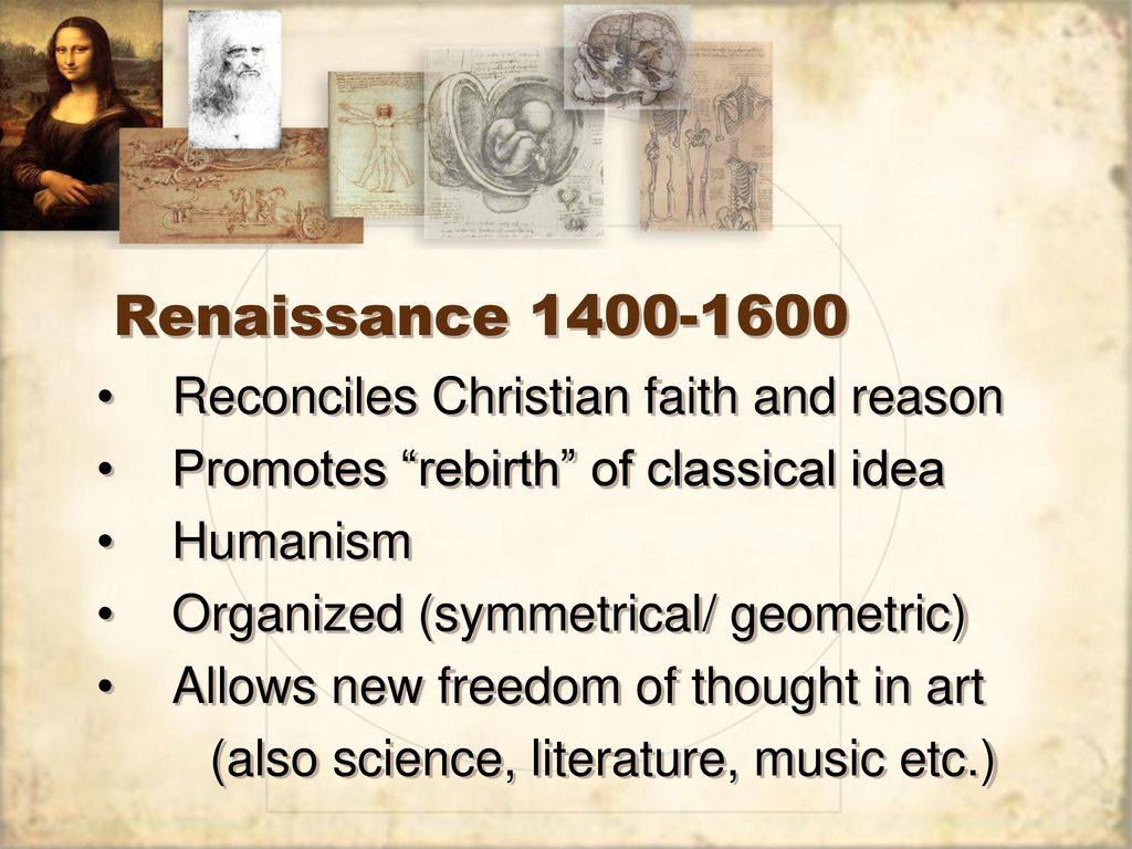 The approximate dates for the renaissance era are in Australia