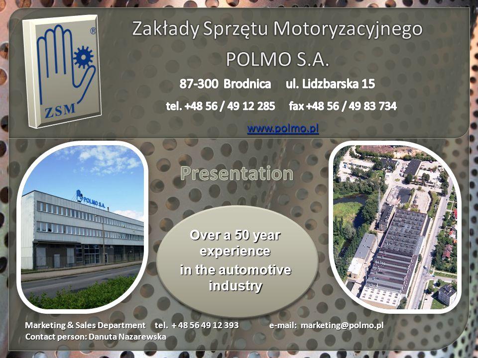 Zakłady Sprzętu Motoryzacyjnego POLMO S.A.