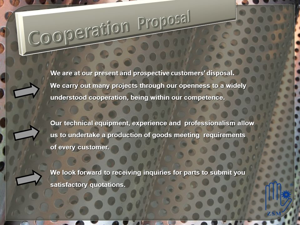 Cooperation Proposal