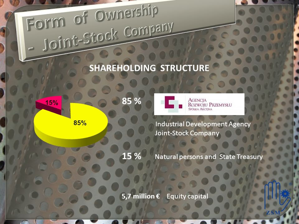 Form of Ownership - Joint-Stock Company