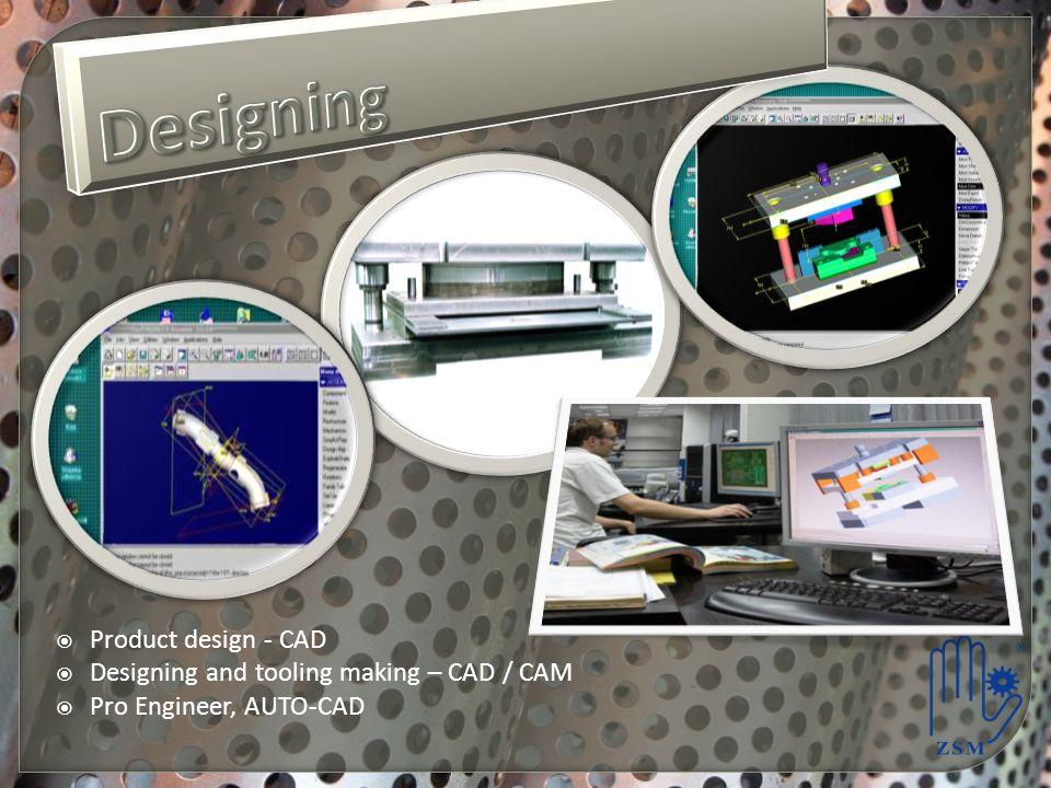 Designing Product design - CAD