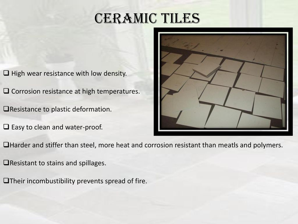 Presentation on floor finishes ppt download 16 ceramic tiles high wear resistance dailygadgetfo Choice Image
