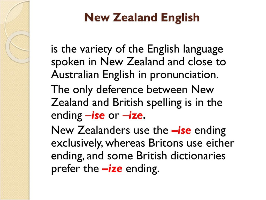 Learn new zealand english online
