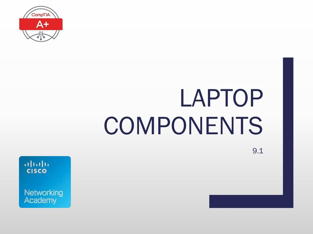 Laptop components 9.1