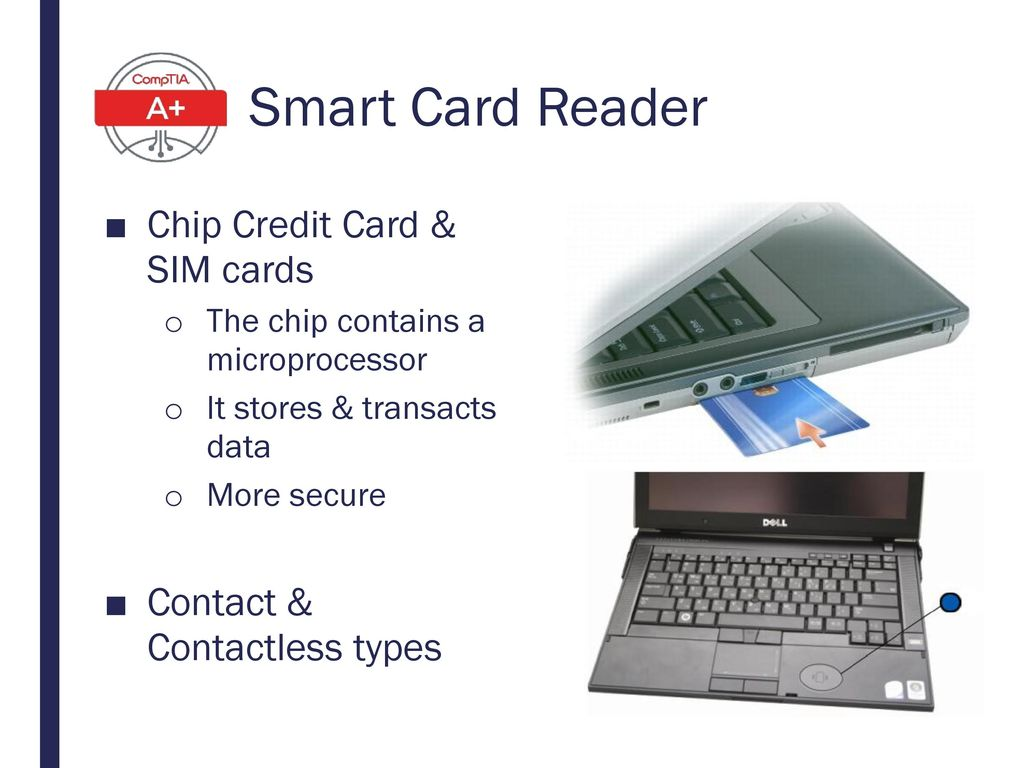 Smart Card Reader Chip Credit Card & SIM cards