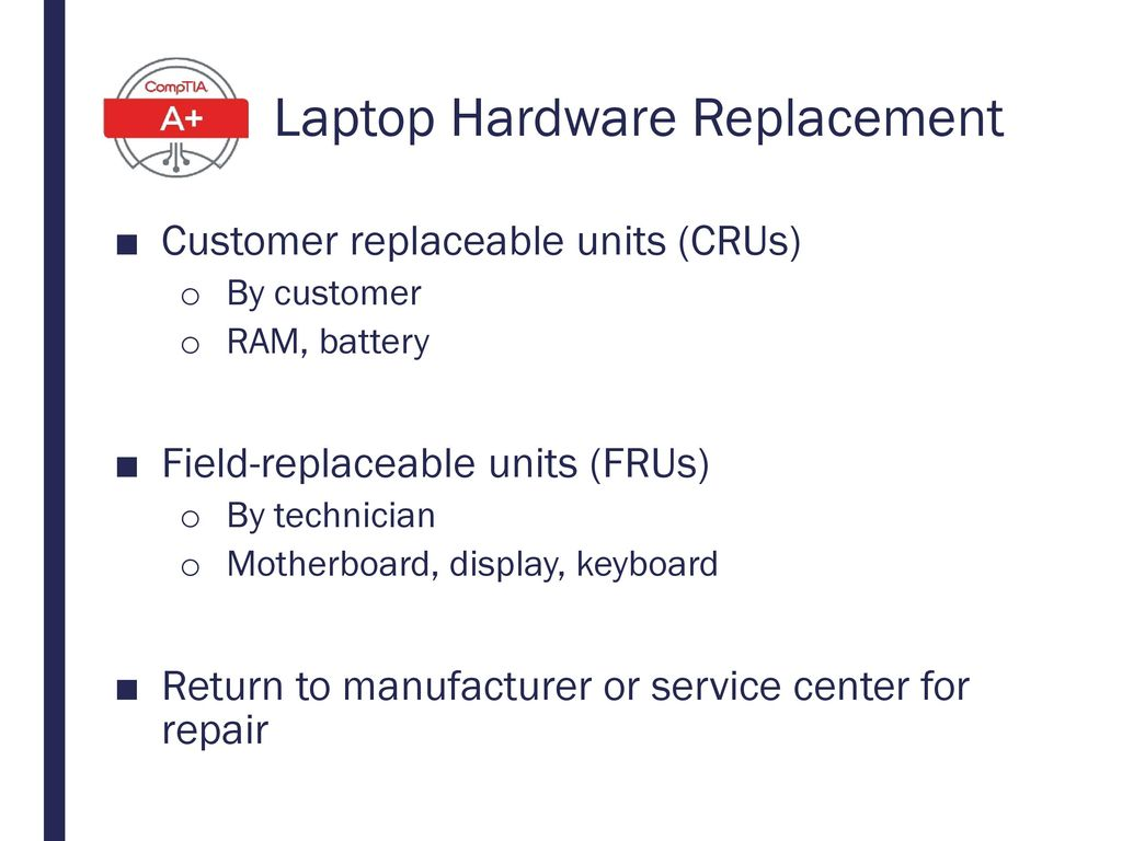 Laptop Hardware Replacement
