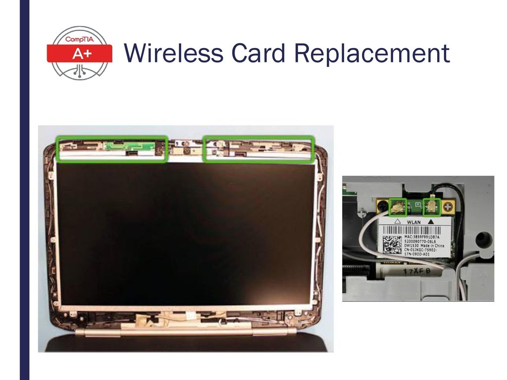 Wireless Card Replacement