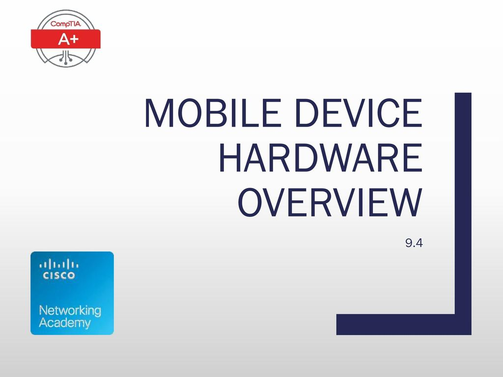 Mobile device hardware overview