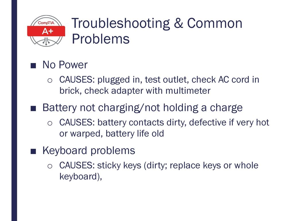 Troubleshooting & Common Problems