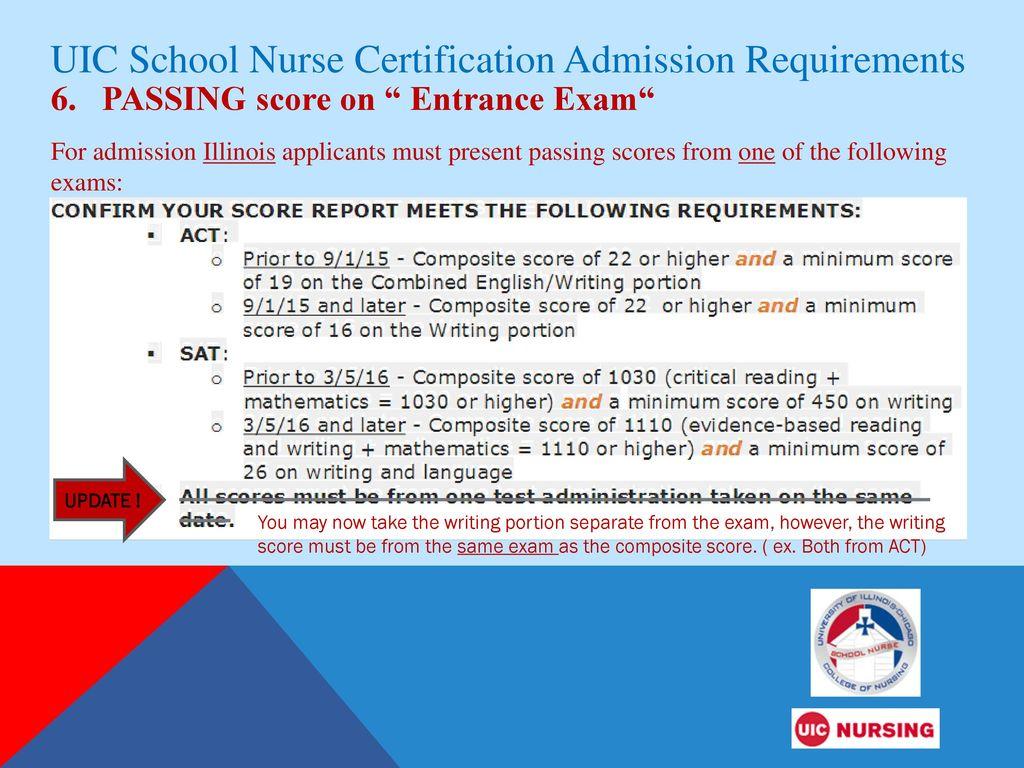 Uic school nurse certificate program ppt download uic school nurse certification admission requirements 1betcityfo Image collections