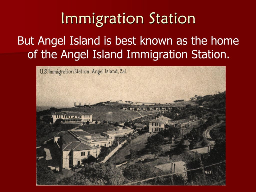 the situation at the chinese immigration camps at angel island in san francisco Learning about angel island history but that was not the case at angel island at angel island, chinese immigrants were angel island immigrants san francisco.