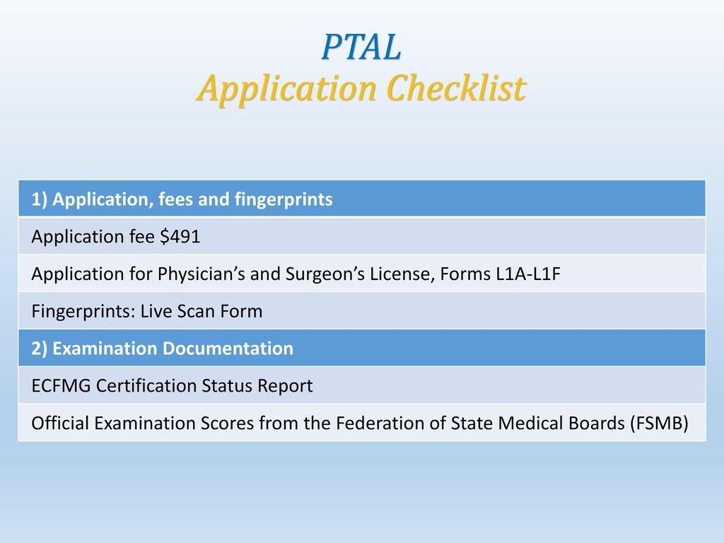 Postgraduate Training Authorization Letter Ptal Ppt Download