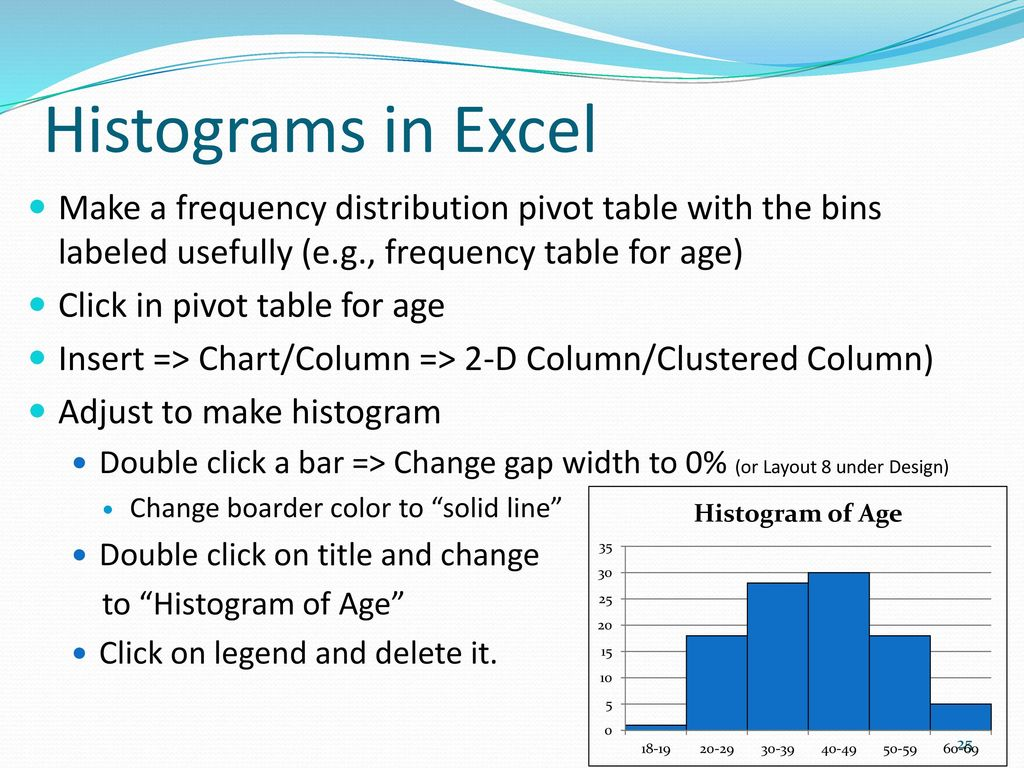 how to create bins for frequency distribution in excel