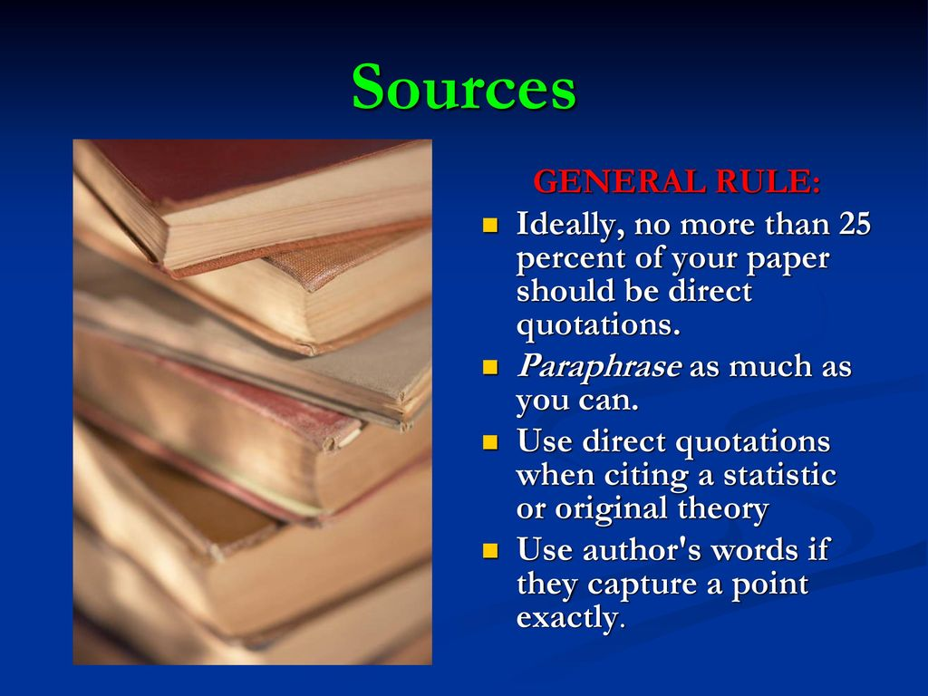 what percent of a research paper should be quotations A hard copy of the paper should also be sent by post  12 percent, etc figures should be mentioned in thousands  spellings of words in quotations should not be.