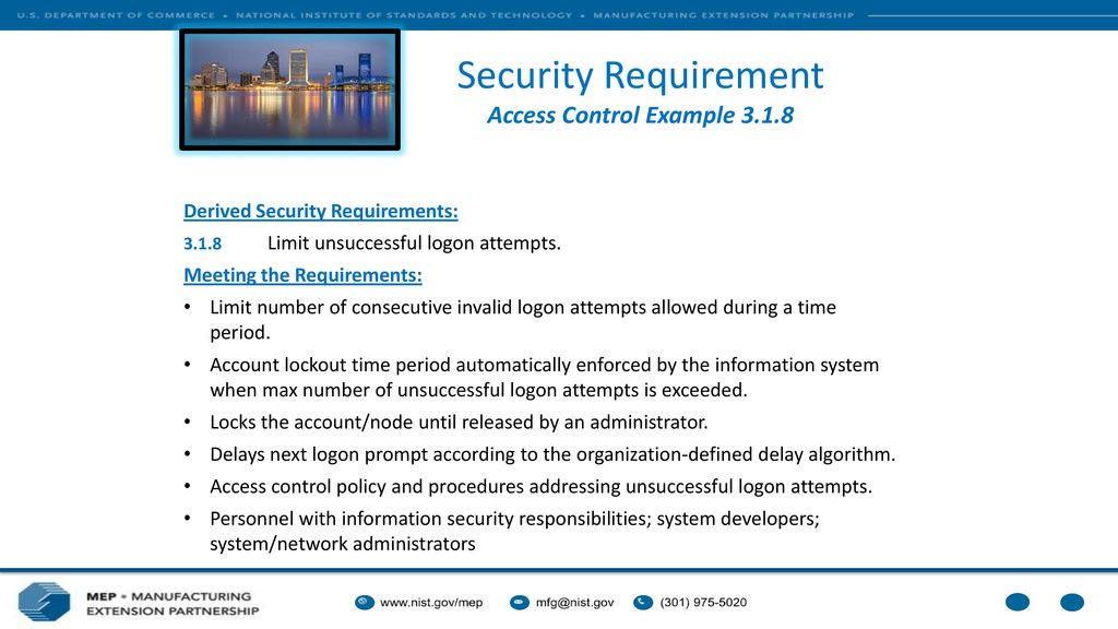 access control policy template - special publication protecting controlled unclassified