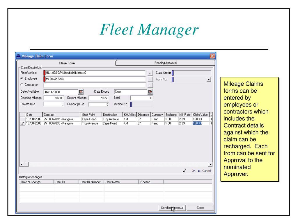 Fleet Manager Job Description Business Project Templates Sample