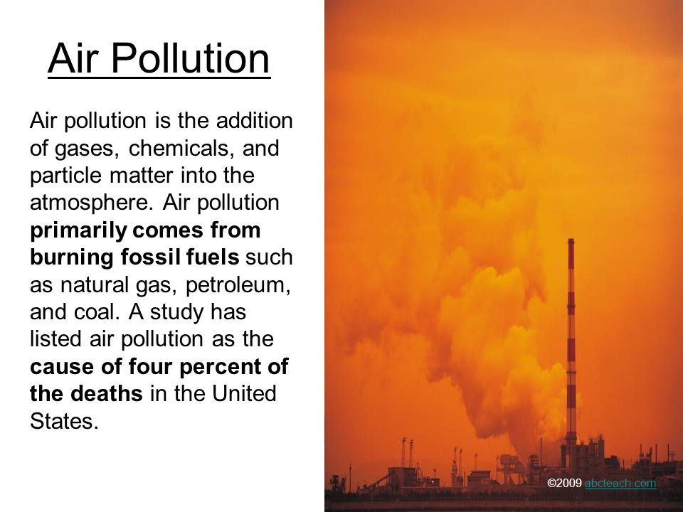 introduction pollution Understanding pollution, its behaviour and impact is becoming increasingly important, as new technologies and legislation continually lower the tolerable levels of pollutants released into the environment.