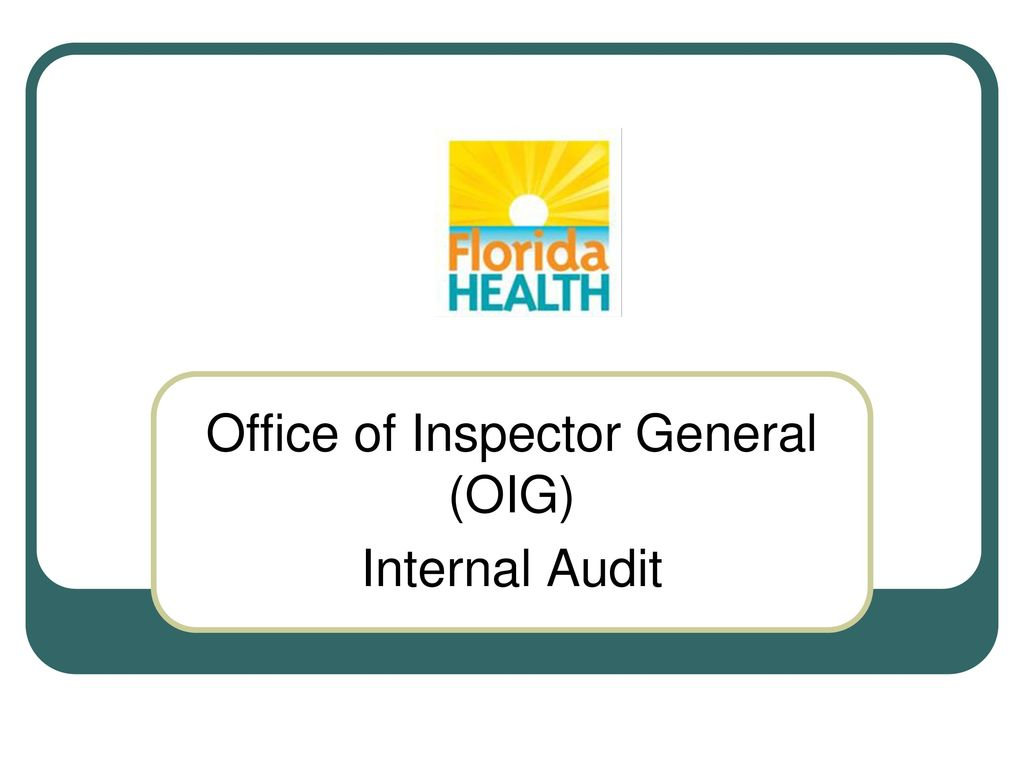 office of inspector general Office of inspector general bradley hart, inspector general carla lawson, assistant paul w kolessar, deputy inspector general of administration.