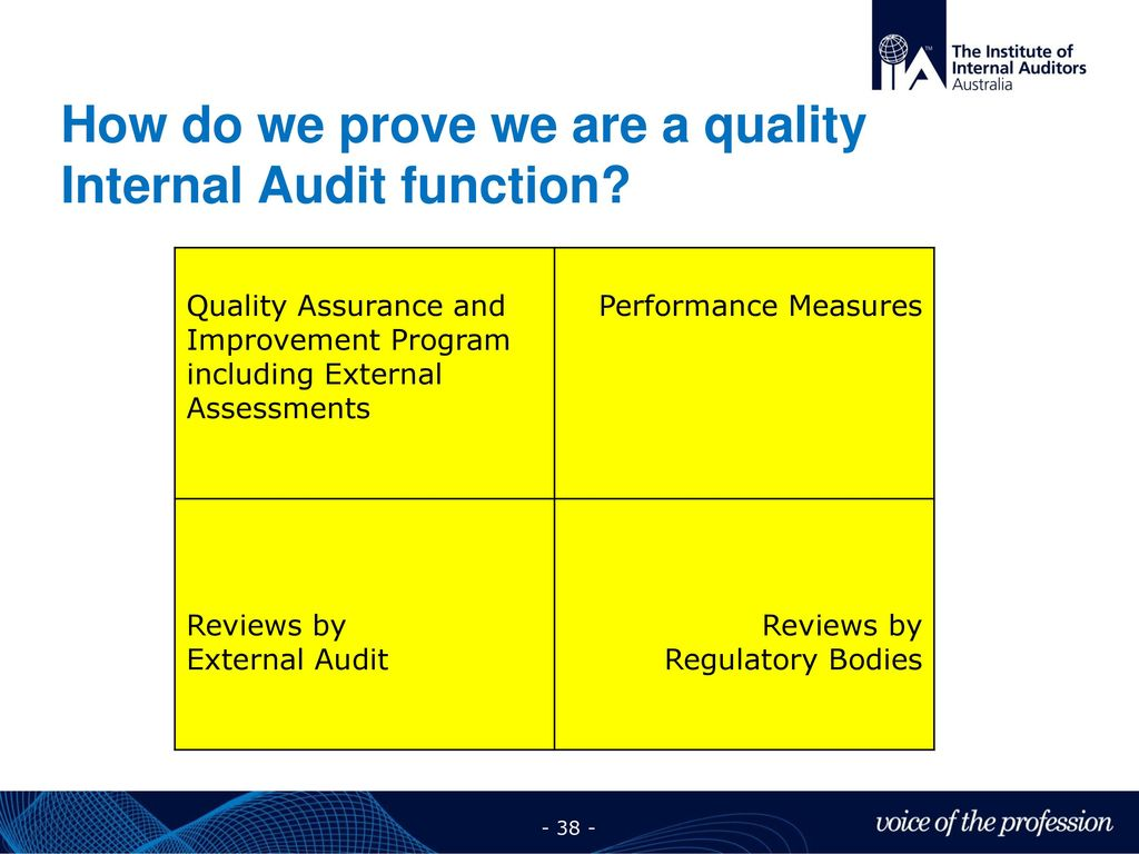 explain the functions of internal quality Monitoring-processes used to assess the quality of internal control performance over time legal and internal audit functions.