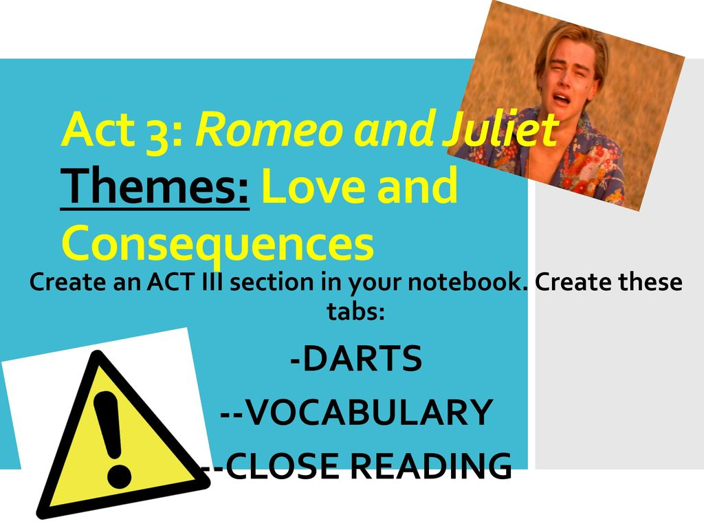 romeo and juliet act 3 themes