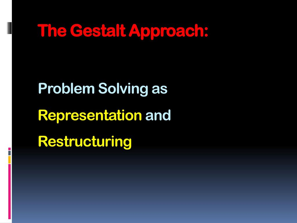 the gestalt approach Learn and understand these principles of gestalt psychology, developed   when we use these six principles of gestalt in our photography, we're  beauty  photography, a professional approach: onset with daniel norton.