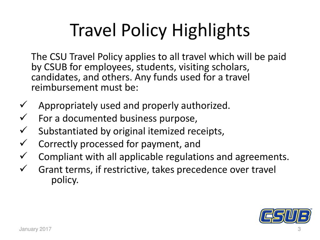 travel policy effective january 1 ppt download