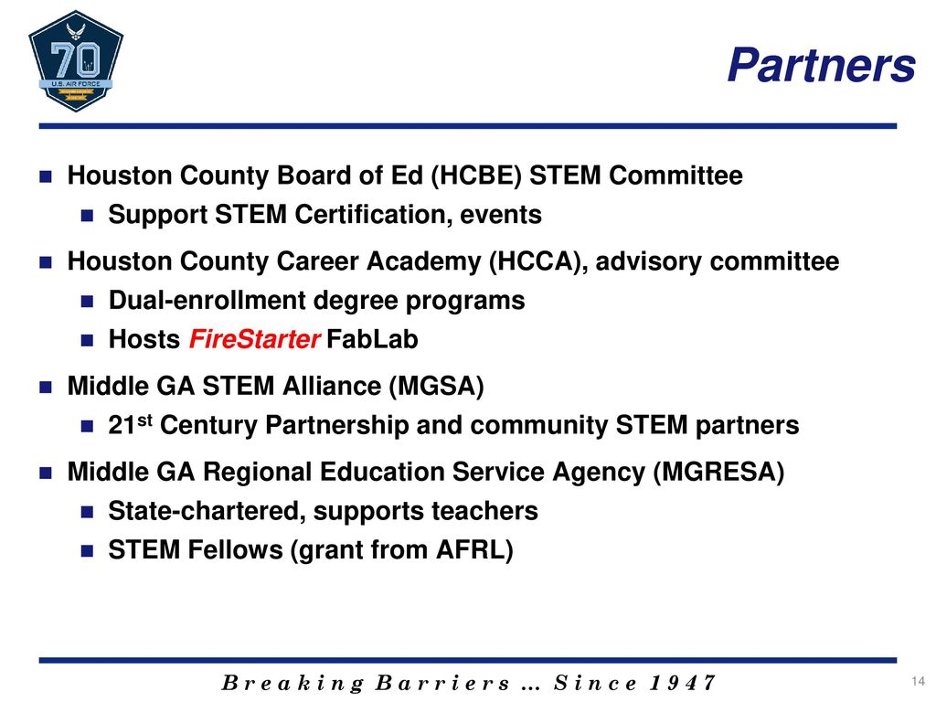 K 12 stem outreach robins style jamie cook afmc afscenrw robins partners houston county board of ed hcbe stem committee xflitez Image collections