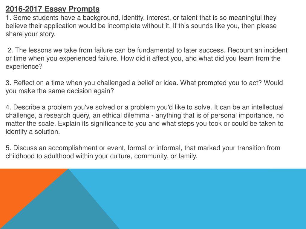 Sample student applytexas essay