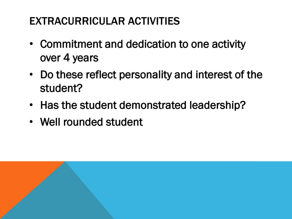 "extracurricular activities start Learn more about extracurricular activities and how students can  what exactly is an ""extracurricular activity  don't start slacking on your pastimes ."