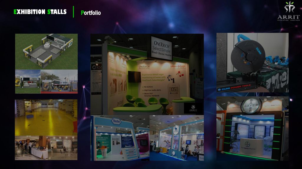 Exhibition Stall Types : Arrit events company profile