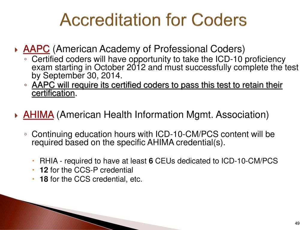 Icd 10 changes everything in the revenue cycle ppt download accreditation for coders 1betcityfo Gallery