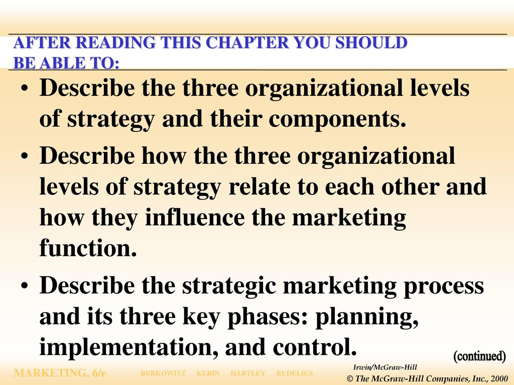 three key characteristics of the marketing concept Key concepts distribution  services marketing is a specialised branch of  scholars began defining services in terms of their own unique characteristics,.