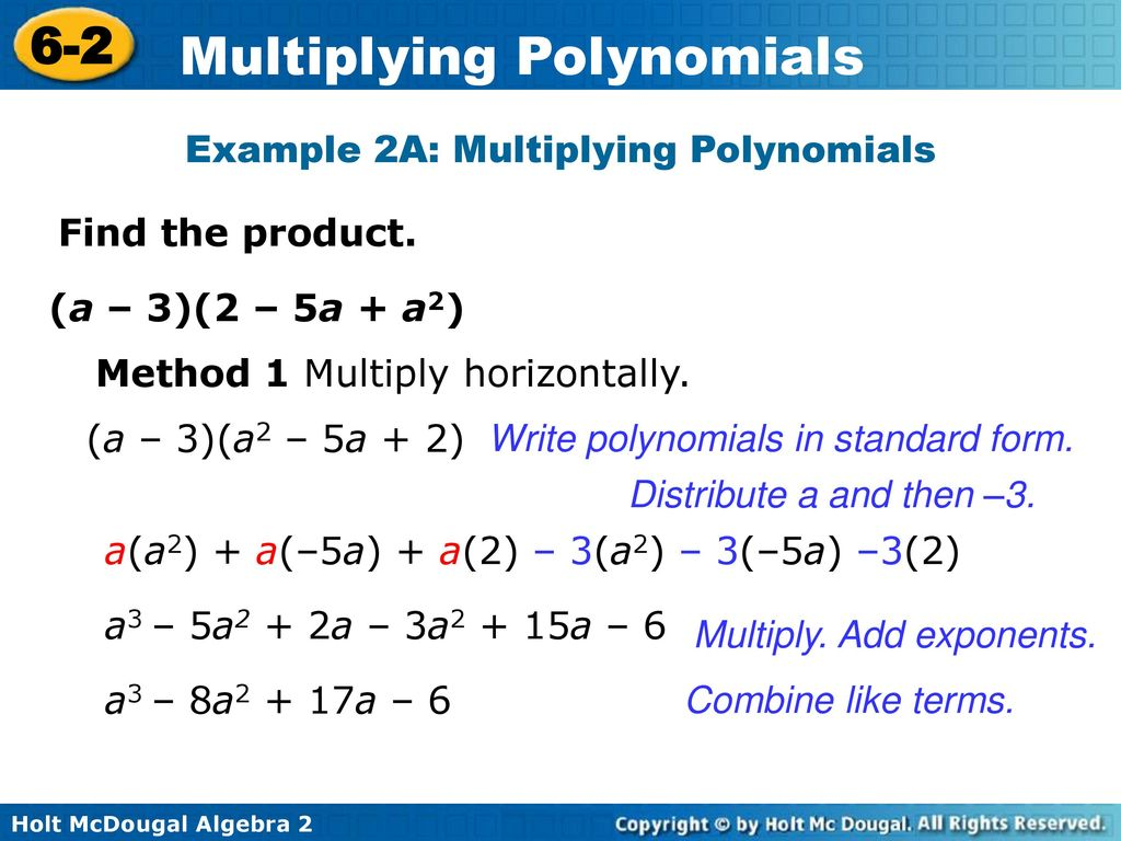Multiplying numbers in standard form gallery standard form examples multiplying polynomials ppt download example 2a multiplying polynomials falaconquin falaconquin