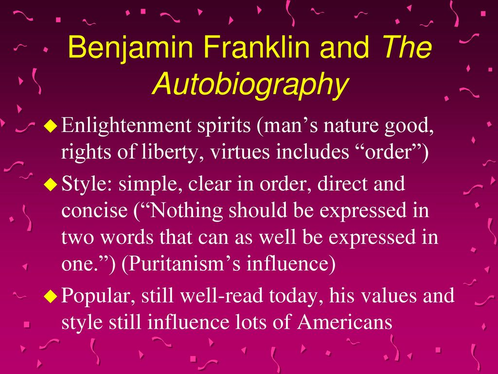 benjamin franklin biography essay questions  benjamin franklin autobiography constitution questions added center owned