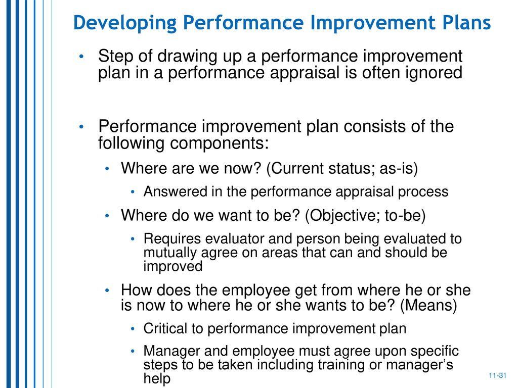 developing performance appraisal system The key purpose of a performance appraisal is to and developing a ranking system the importance of reliability in performance appraisals performance.