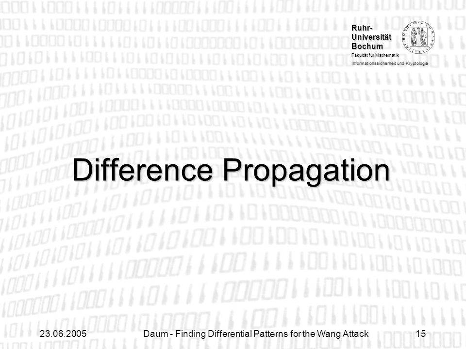 Difference Propagation