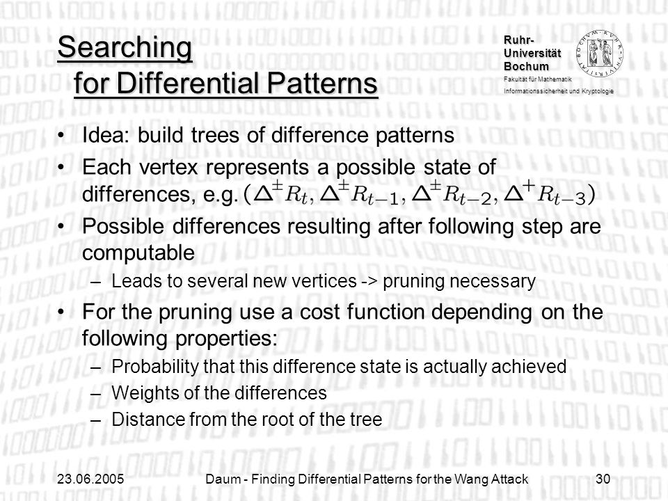 Searching for Differential Patterns
