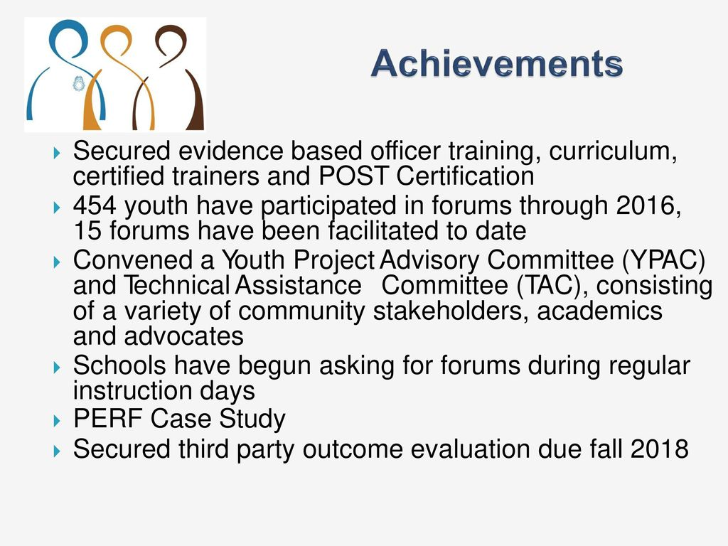 All america city promising practices webinar series ppt download secured evidence based officer training curriculum certified trainers and post certification 1betcityfo Image collections